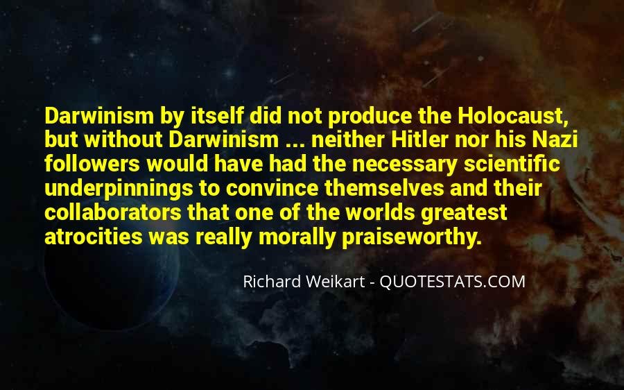 Quotes About The Holocaust From Hitler #594657