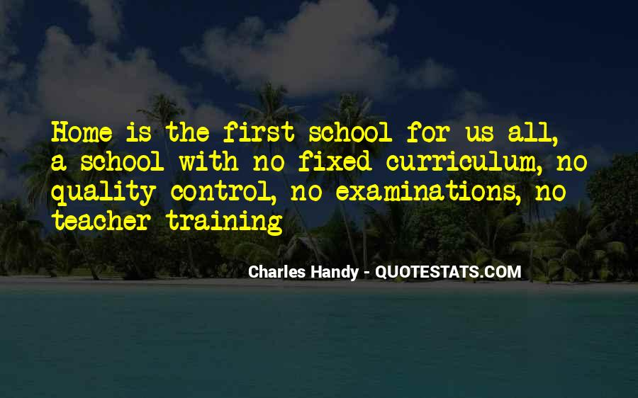 Quotes About Examinations In School #1320232