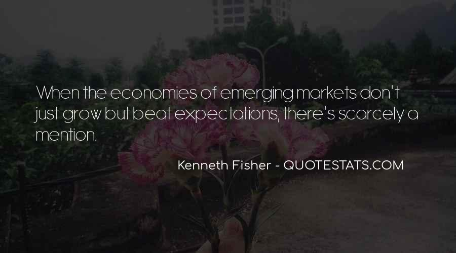 Quotes About Emerging Economies #1175151