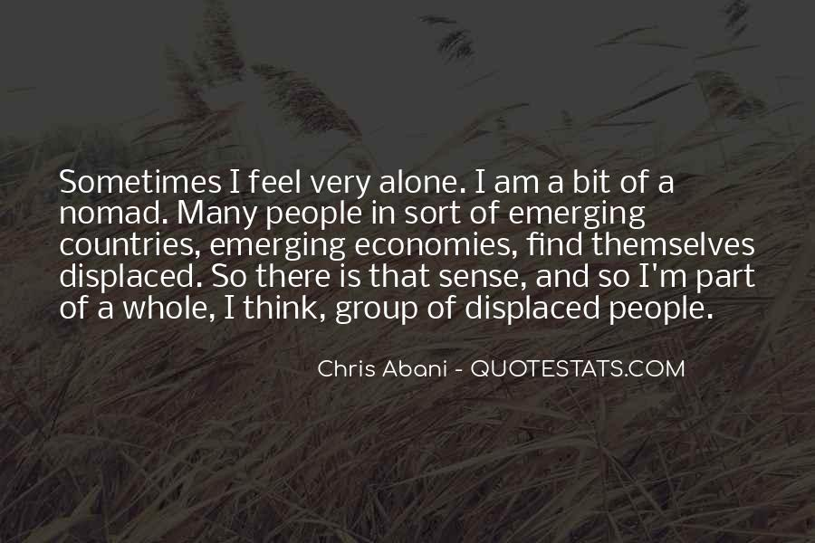 Quotes About Emerging Economies #1370301