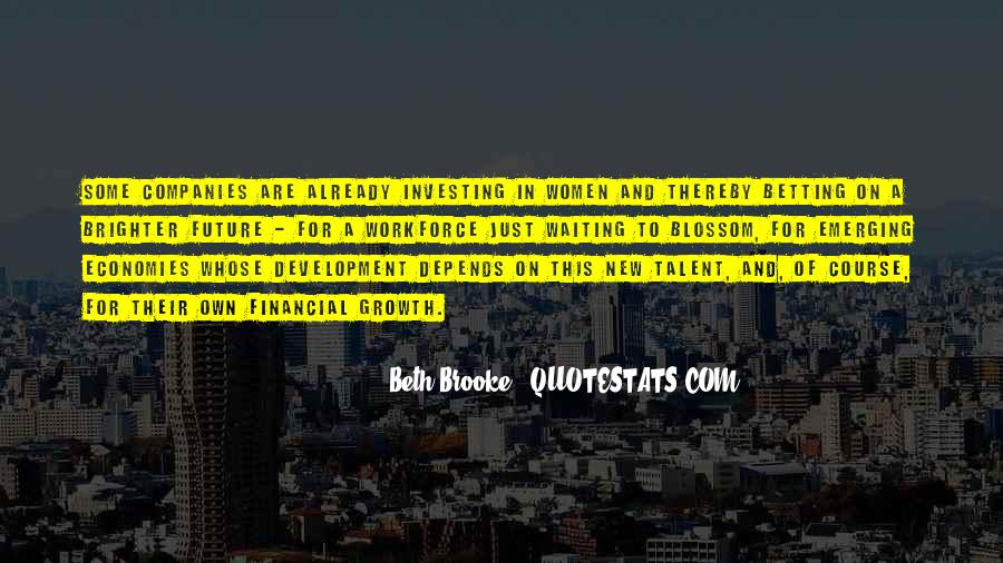 Quotes About Emerging Economies #1450390