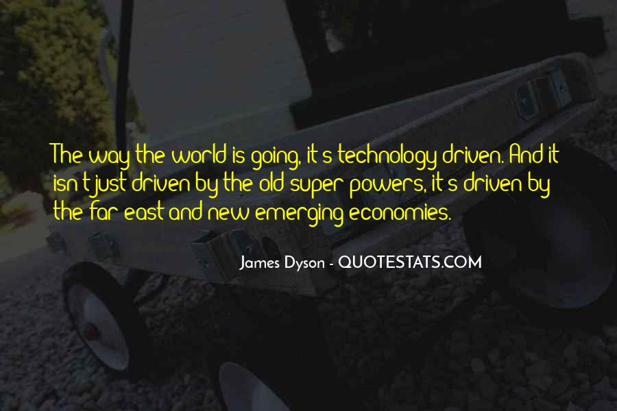 Quotes About Emerging Economies #267352