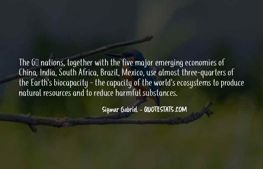 Quotes About Emerging Economies #985841