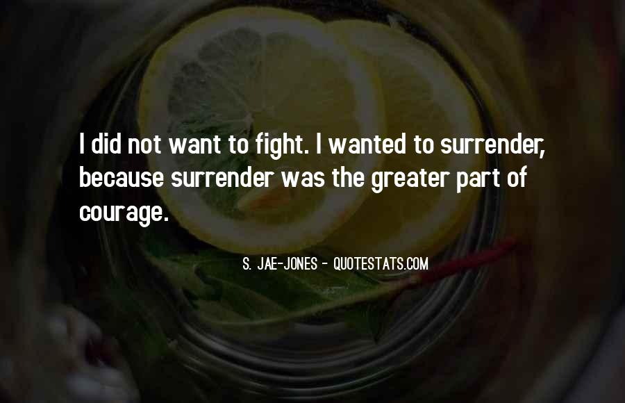 Quotes About Surrender #112173