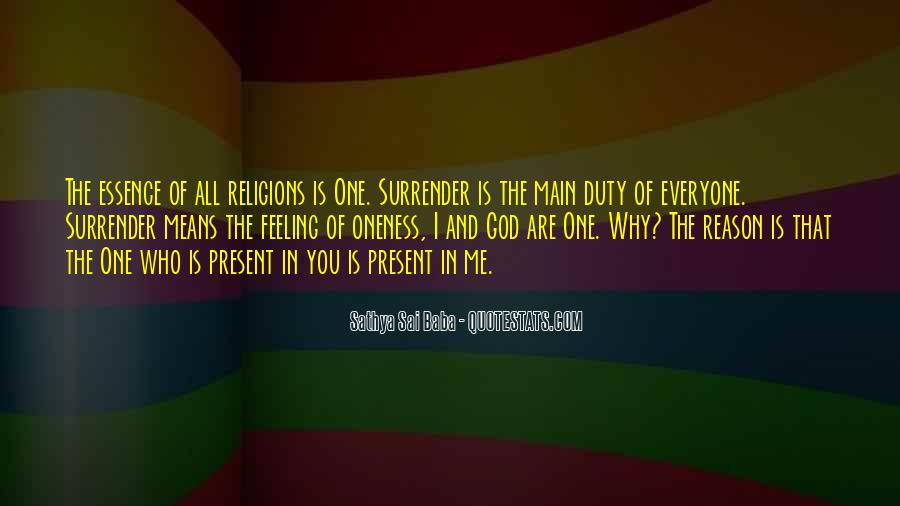 Quotes About Surrender #112988