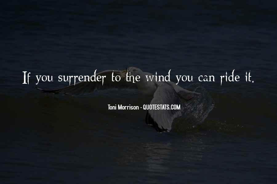Quotes About Surrender #74043