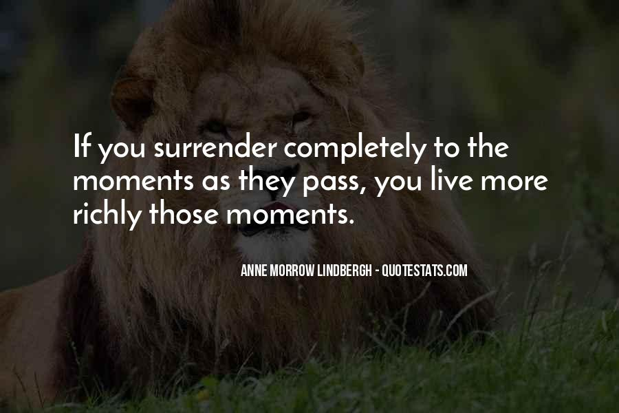 Quotes About Surrender #84459