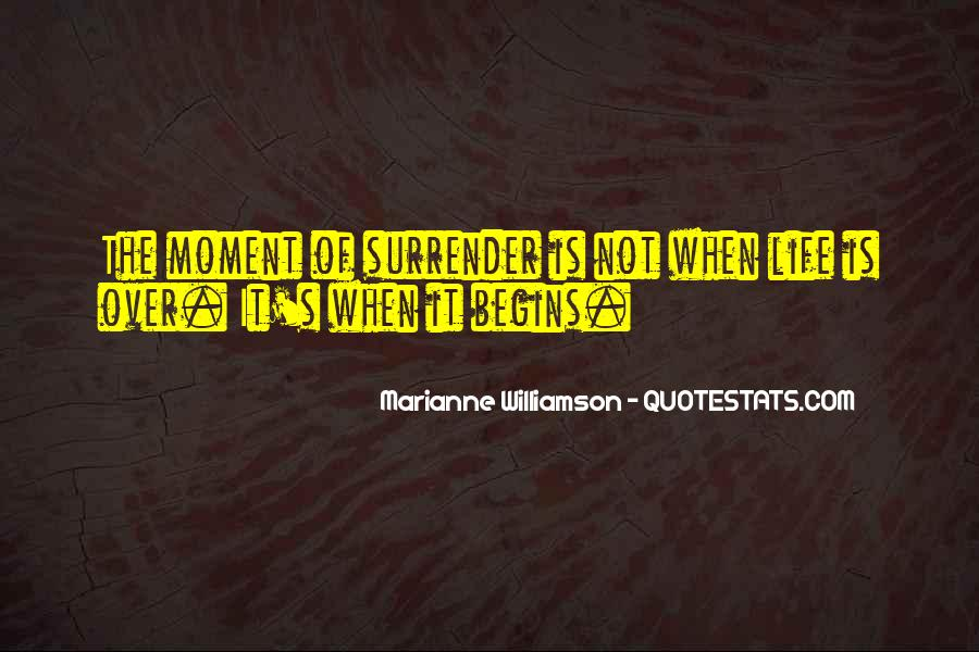 Quotes About Surrender #8766