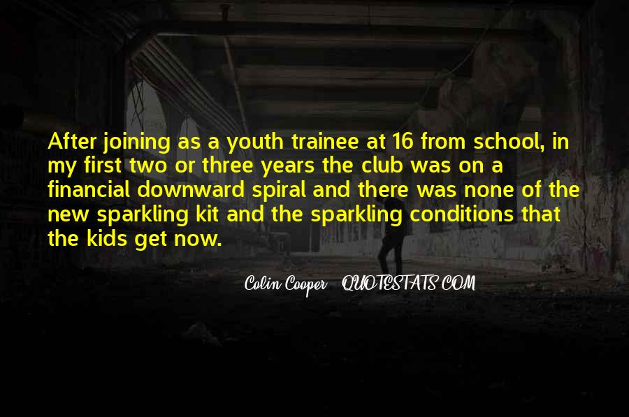 Quotes About Out Of School Youth #18335