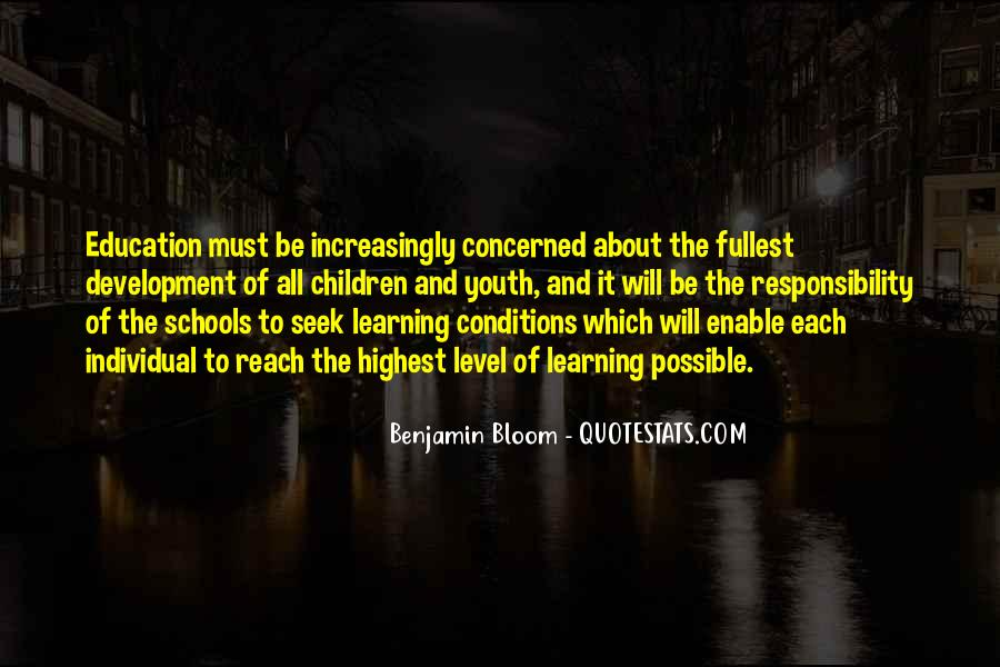 Quotes About Out Of School Youth #238801