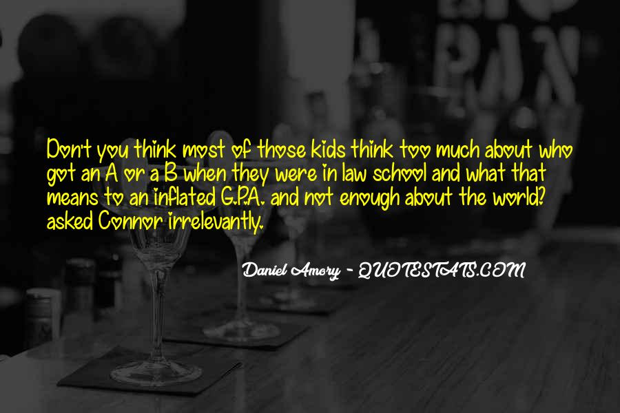 Quotes About Out Of School Youth #319177