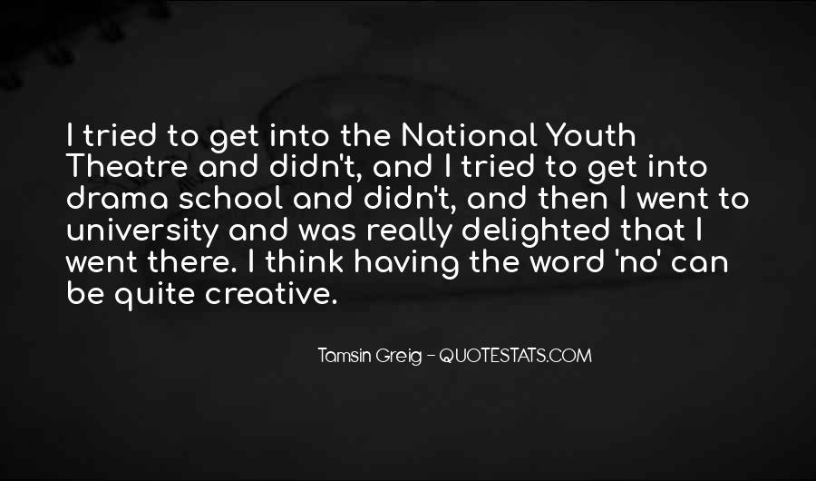 Quotes About Out Of School Youth #661116