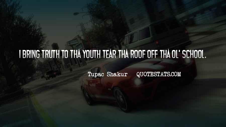 Quotes About Out Of School Youth #752032