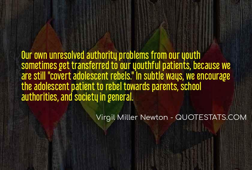 Quotes About Out Of School Youth #99219