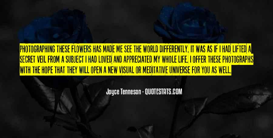 Quotes About Hope And Flowers #875510