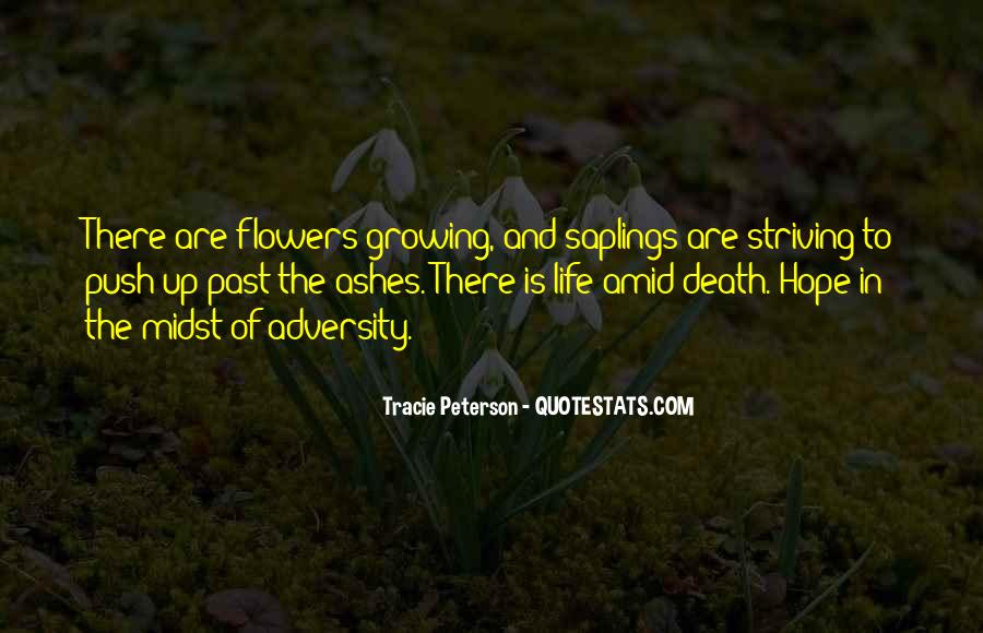 Quotes About Hope And Flowers #895392
