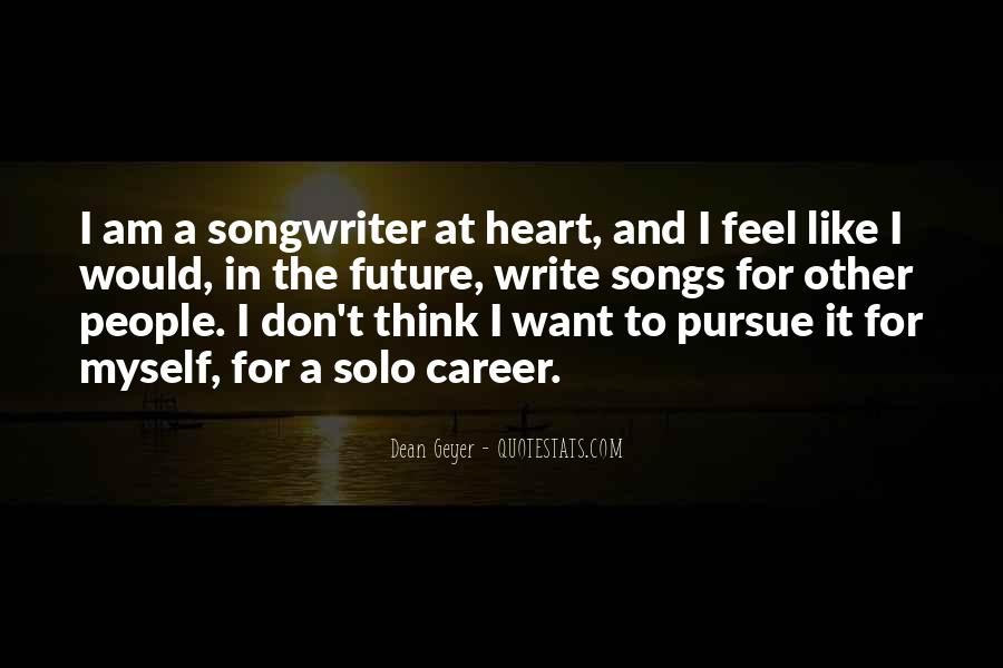 Quotes About Heart Songs #1025044