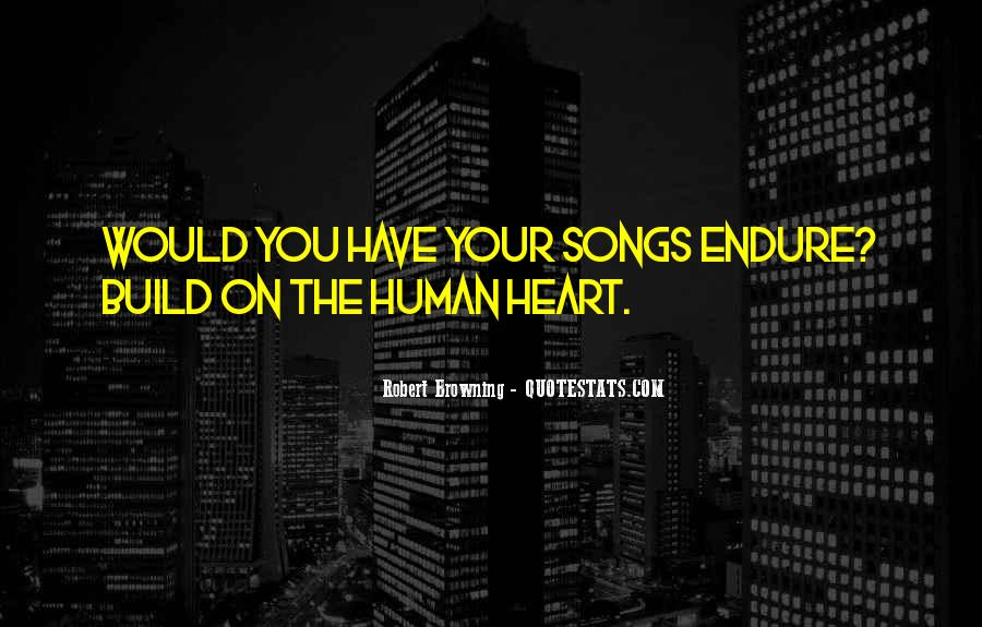 Quotes About Heart Songs #1062479