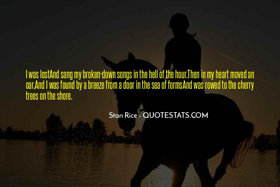 Quotes About Heart Songs #1095965
