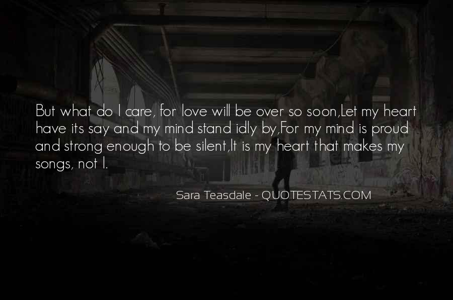 Quotes About Heart Songs #1132708