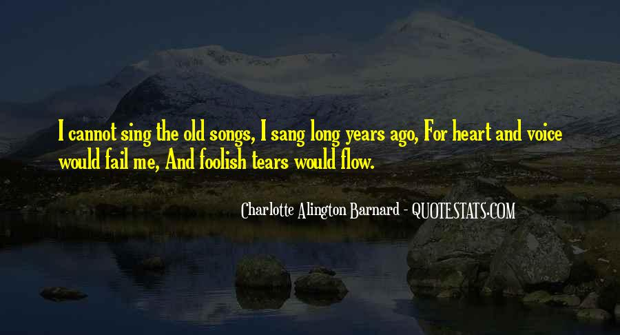 Quotes About Heart Songs #185109