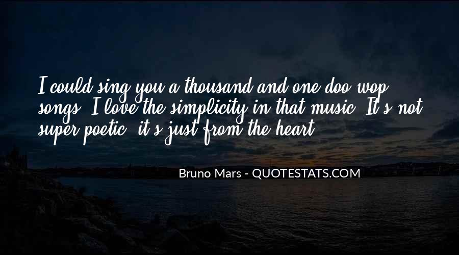 Quotes About Heart Songs #185822
