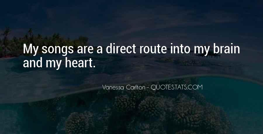 Quotes About Heart Songs #217120