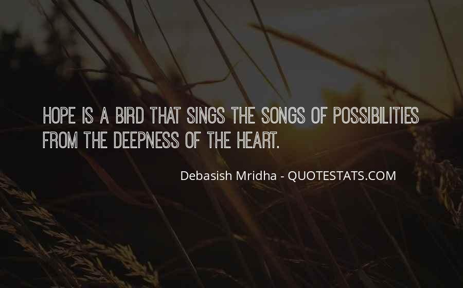 Quotes About Heart Songs #246716