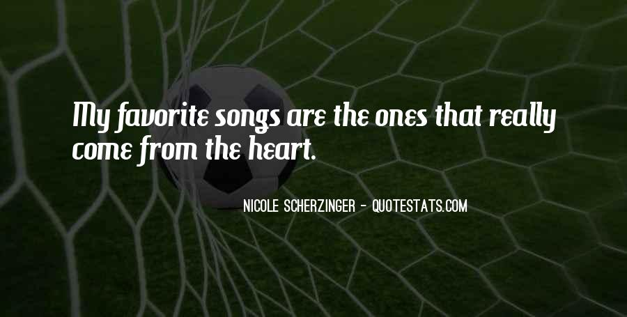 Quotes About Heart Songs #285320