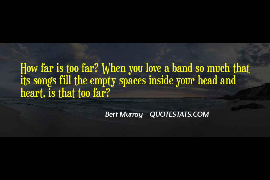 Quotes About Heart Songs #311365