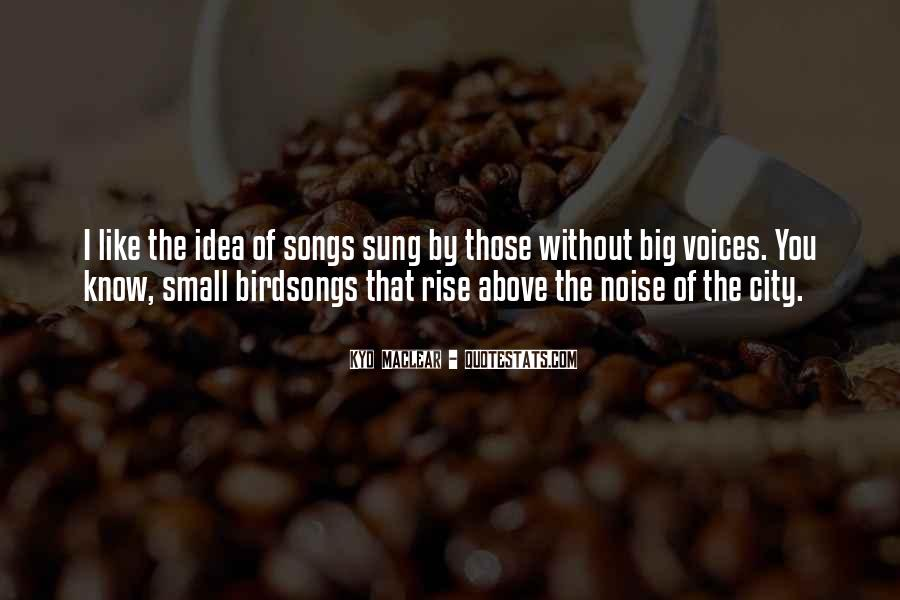 Quotes About Heart Songs #339180