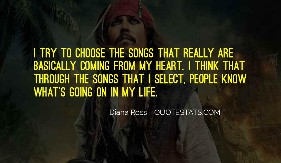 Quotes About Heart Songs #36877