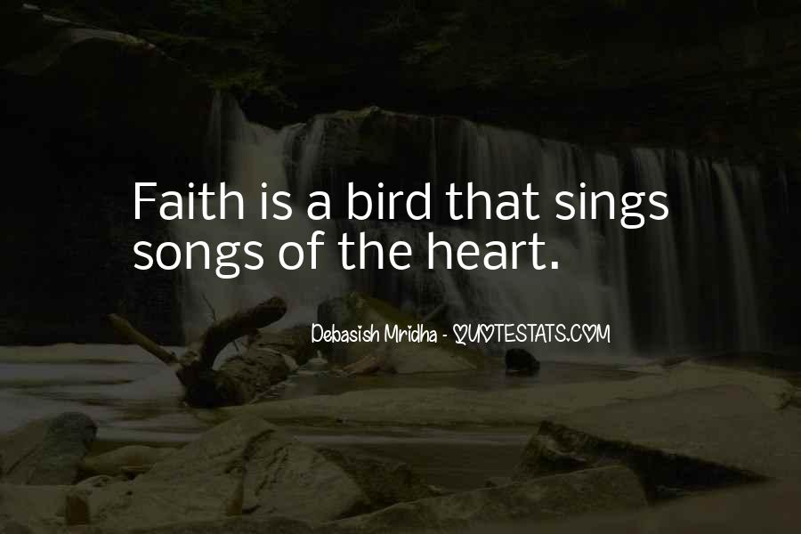 Quotes About Heart Songs #422678