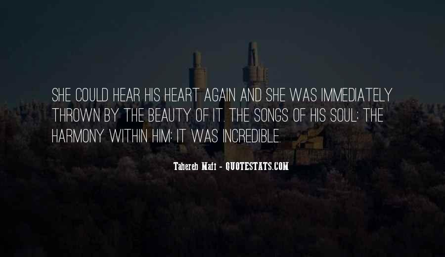 Quotes About Heart Songs #438910