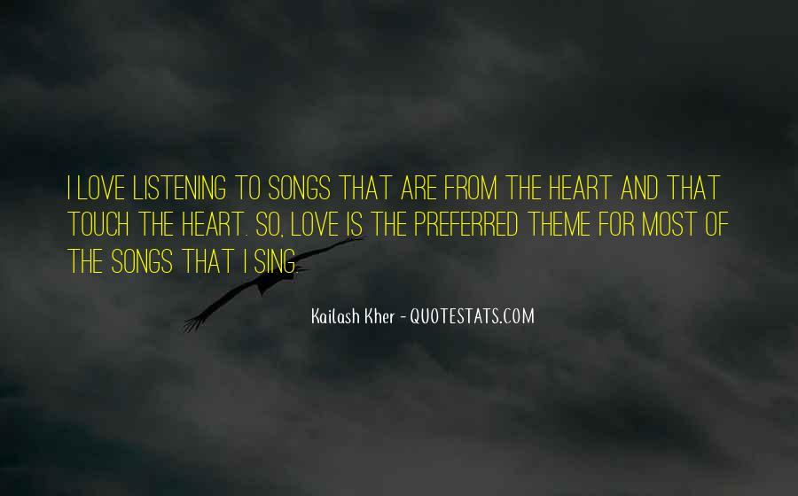 Quotes About Heart Songs #479777