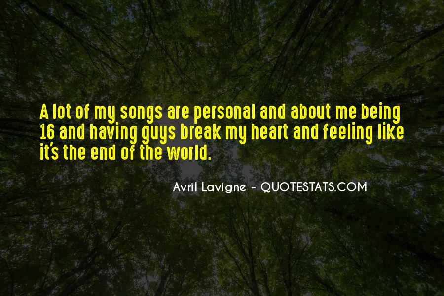 Quotes About Heart Songs #498265
