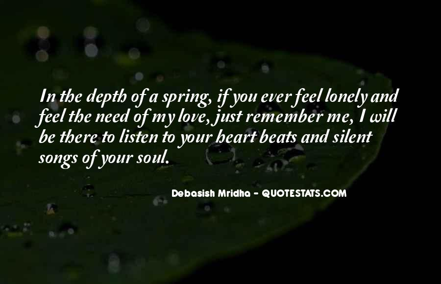 Quotes About Heart Songs #517798