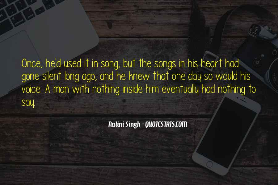 Quotes About Heart Songs #546579