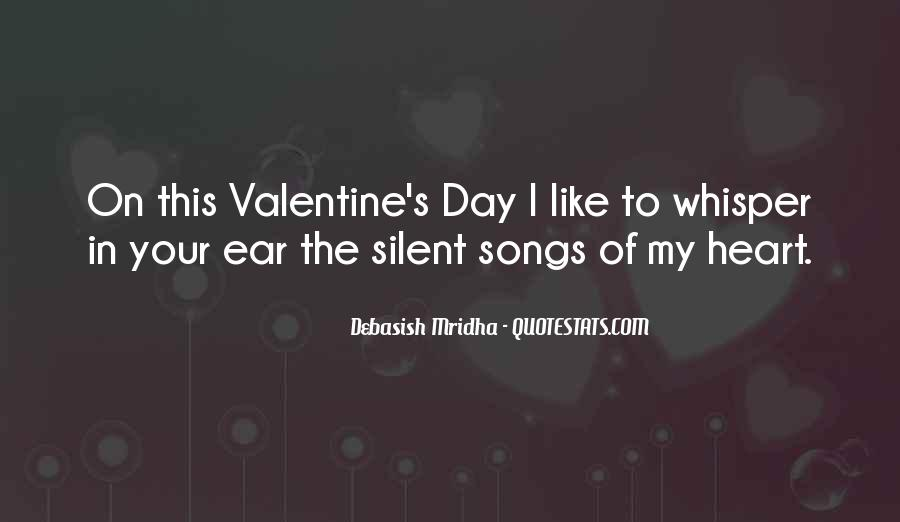 Quotes About Heart Songs #553734