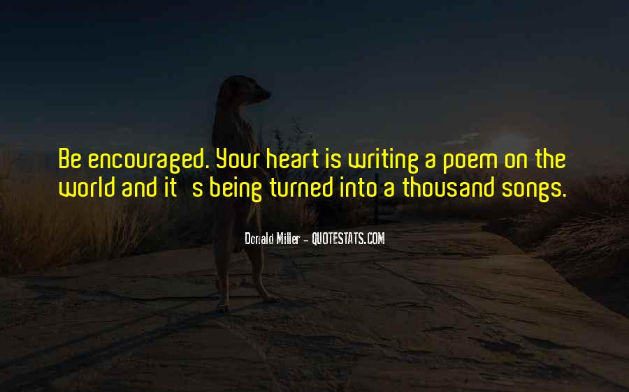 Quotes About Heart Songs #706215