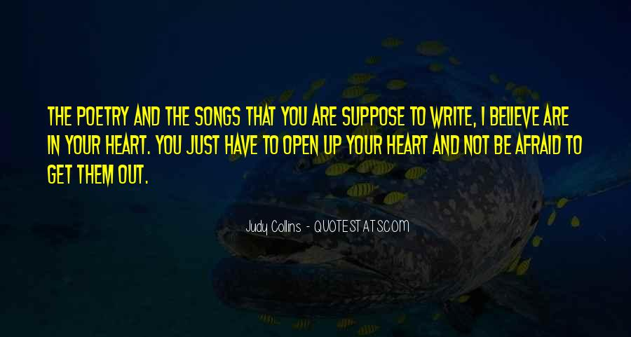 Quotes About Heart Songs #741707