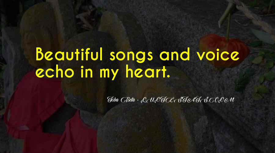 Quotes About Heart Songs #751045