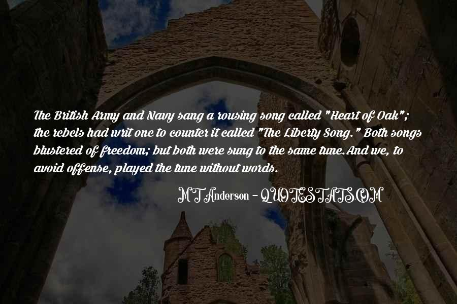 Quotes About Heart Songs #777994