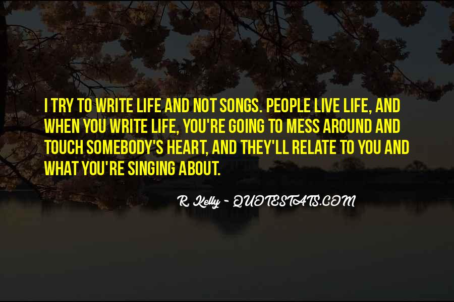 Quotes About Heart Songs #788891