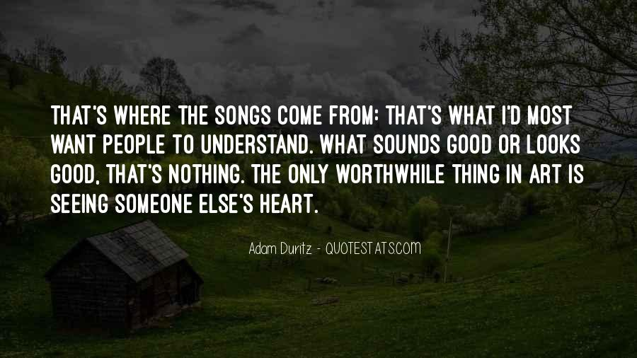 Quotes About Heart Songs #847330