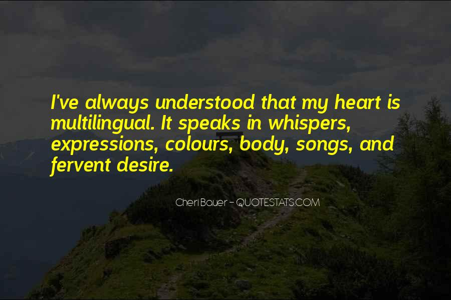 Quotes About Heart Songs #853141