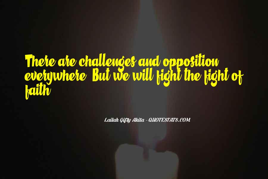 Quotes About Challenges And Determination #1201812