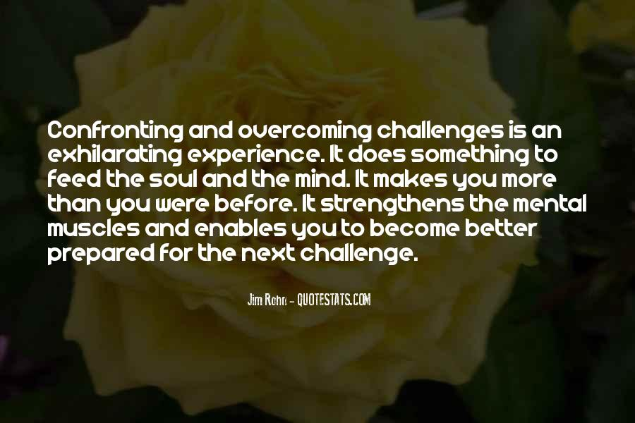 Quotes About Challenges And Determination #960427