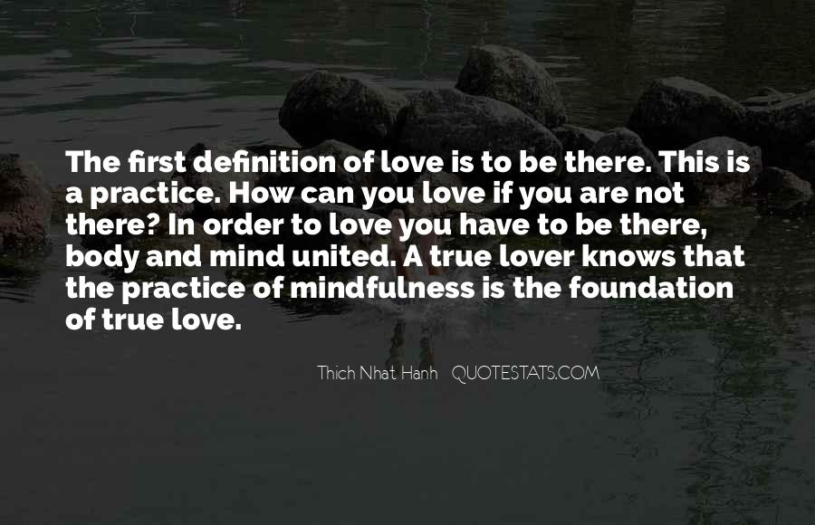 Quotes About The Definition Of True Love #253185