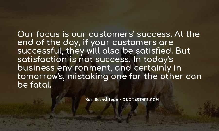 Quotes About Satisfaction Of Customers #1056735